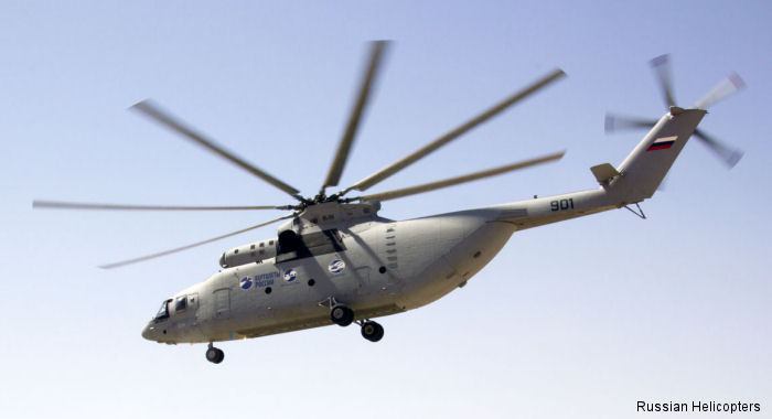 Russian Helicopters Mi-26T2