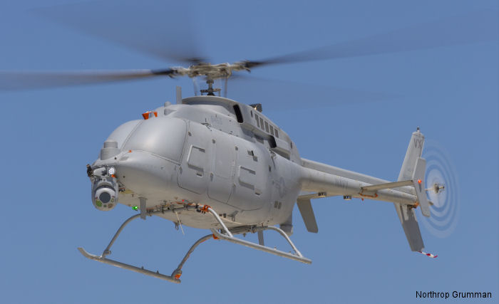U.S. Navy MQ-8C Fire Scout unmanned helicopter demonstrated endurance capabilities with a 10+ hour flight and range out to 150nm/277km flight from Naval Base Ventura County, Point Mugu, CA