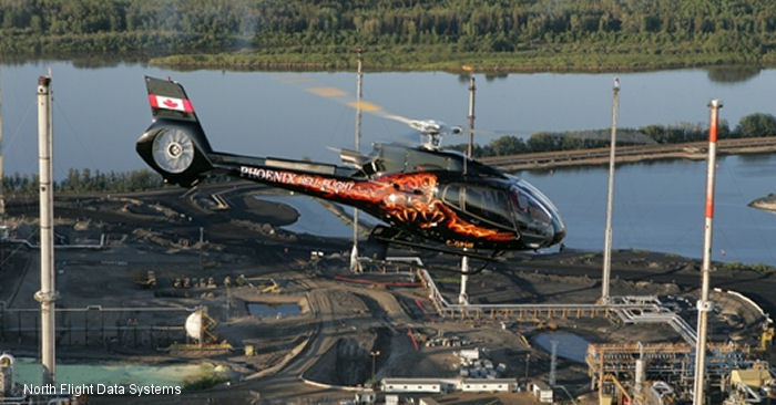 North Flight Data Systems receives Canadian Validation for AS350 and EC130 installation