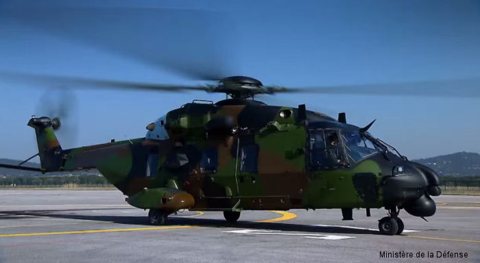 NHI delivered the 15th NH90 Caiman TTH helicopter to the French Army (ALAT) during the Paris Air show