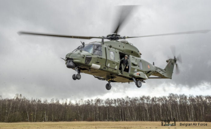 18 Squadron declared Initial Operational Capable on new NH90 MTH