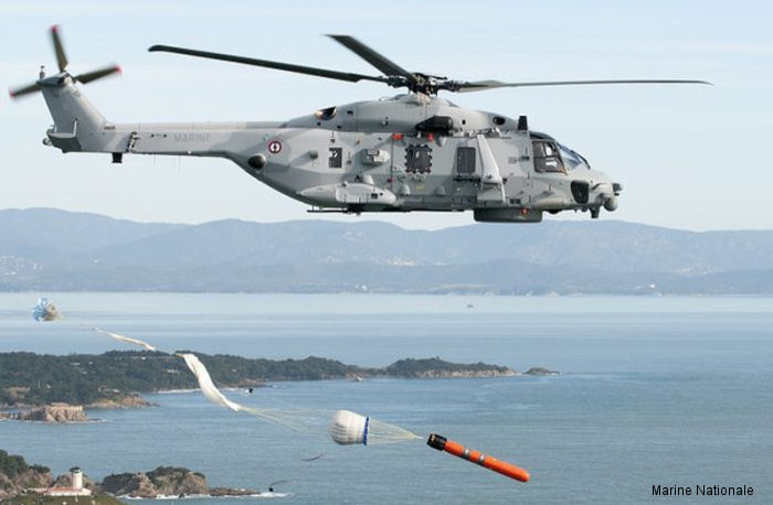 French Navy NH90 NFH Caiman Achieves IOC for ASW with MU90 Torpedo