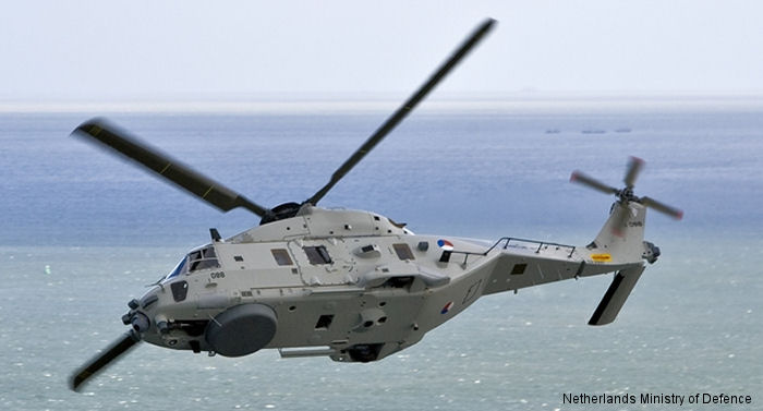 Terma from Denmark has been contracted by the Royal Netherlands Air Force (RNLAF) to integrate the Terma Modular Aircraft Survivability (MASE) Pod onto the Dutch NH90 helicopters.