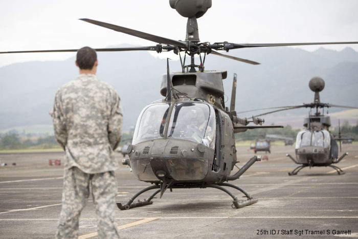 Cavalry conducts final flight of Kiowa Warriors, case colors