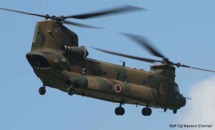 Japan Ground Self Defence Force CH-47JA Chinook