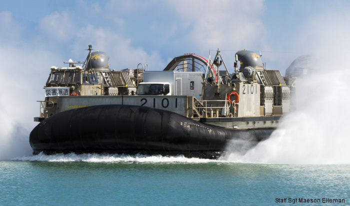 Japan Maritime Self Defence Force LCAC (Landing Craft Air Cushion)