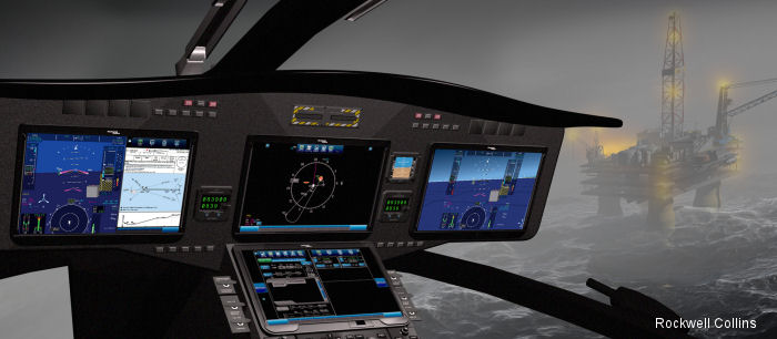 Rockwell Collins launches Pro Line Fusion for commercial helicopter platforms