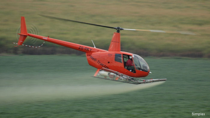 Simplex Aerospace receives Brazil ANAC approval for R44 Agricultural Spray System