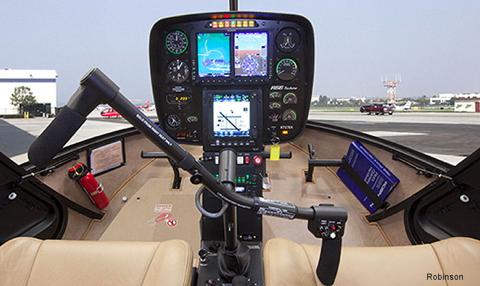 Garmin G500H Avionics Display System and the Genesys Aerosystems HeliSAS autopilot are now available as options on new 2015 R66 Turbine helicopters.