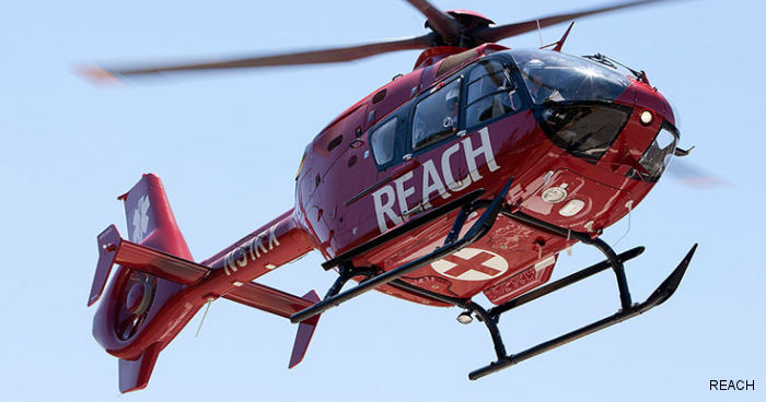 REACH Air Medical Services announces the opening of its new air ambulance base in Alpine, California. An EC135 will provide 24/7/365 emergency air medical transport.
