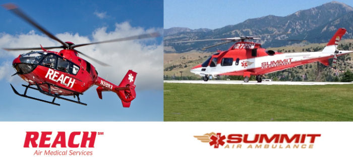 REACH Air Medical Services announces the planned acquisition of Summit Air Ambulance from Texas Next Capital, based in San Antonio, TX.