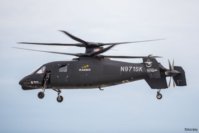 S-97 Raider Helicopter to Be On Static Display at AUSA Exposition