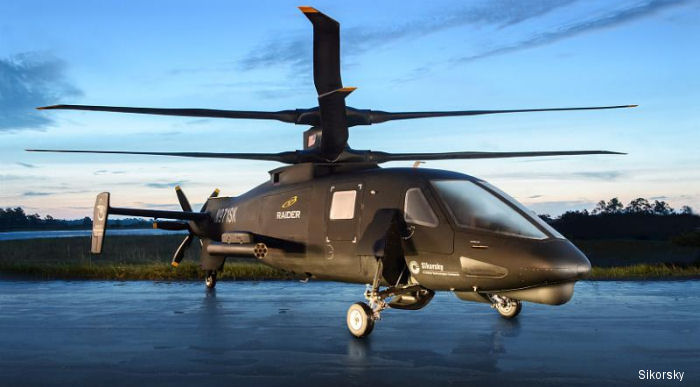 Sikorsky S-97 Raider Program Begins Ground Tests