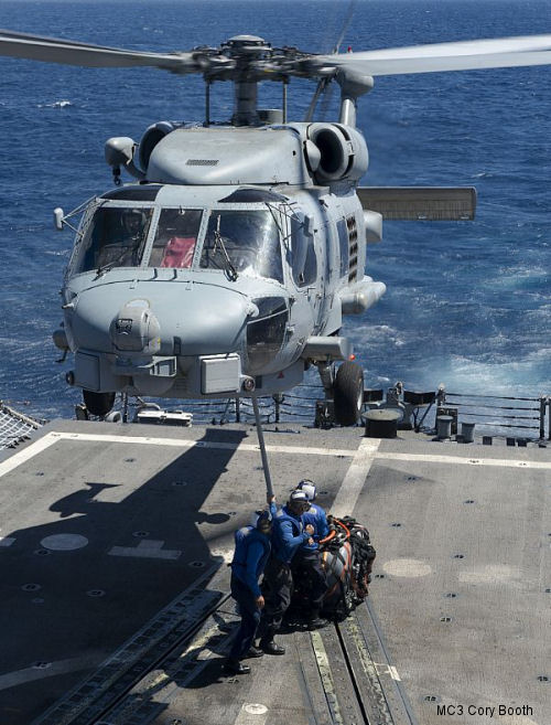 Navy to Hold Sundown Ceremony for SH-60B Sea Hawk Helicopter