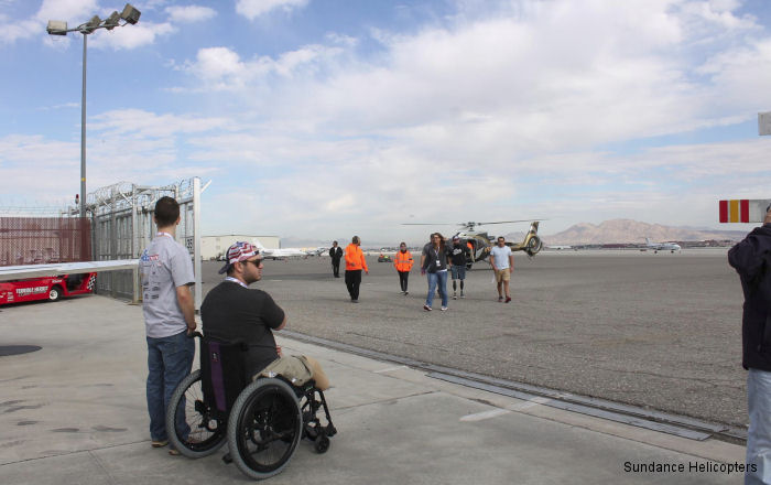 Sundance Helicopters Flew More than 75 Veterans and Family Members in Honor of Veterans Day