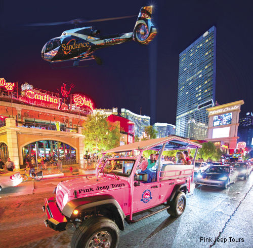 Pink Jeep Tours Partnered with Sundance Helicopters