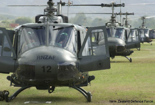 Defence Force Sells Iroquois Helicopters