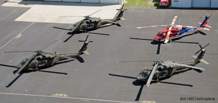 BHI H60 Helicopters Achieves FAA Type Certificate Allowing UH-60A Black Hawk Commercial Operations