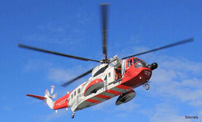 Sikorsky and Bristow have done business for more than 40 years. From 1983-2007, Bristow flew S-61 helicopters in the United Kingdom on behalf of the Maritime and Coast Guard Agency.