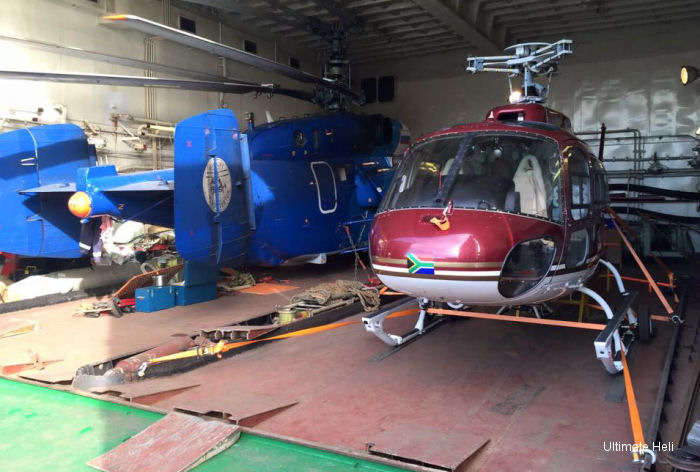 Ultimate Heli AS350B3 Support Antarctica Research