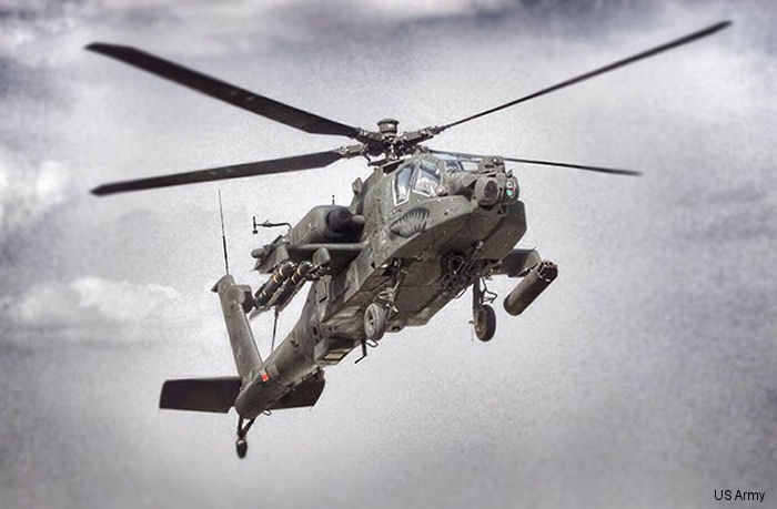 US Army Confirms Order for 117 AH-64E Apaches