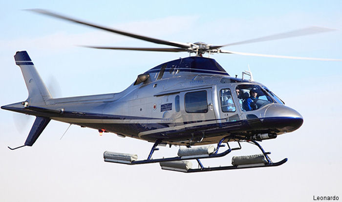 Federal Aviation Administration (FAA) awarded Honeywell a supplemental type certificate (STC) for the Sky Connect Tracker III mission management system on the AW109 and AW119 helicopters