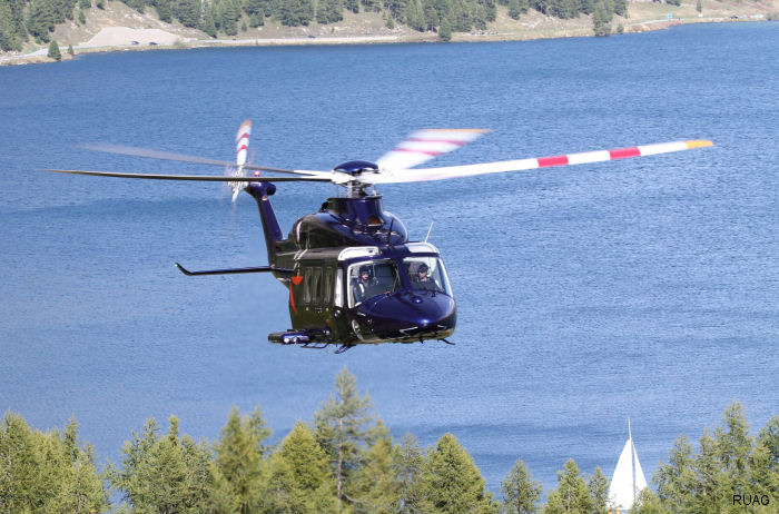 RUAG named Authorised Service Centre for the AW139 by Leonardo