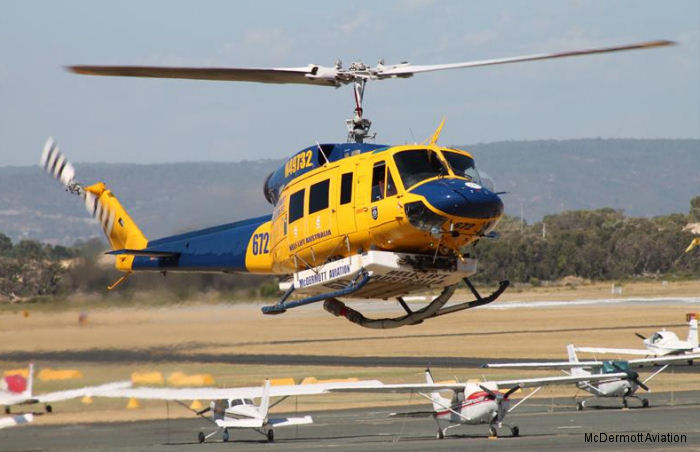McDermott Aviation from Australia selected AKV ETM1000 engine monitoring system for its fleet of 15 Bell 214 helicopters