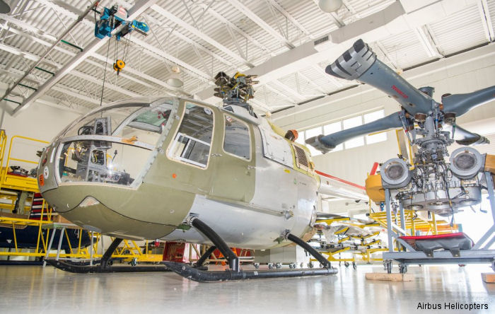 Airbus Helicopters USA now offers maintenance training on a fully functioning Bo105 helicopter, the only one available dedicated solely for training purposes.