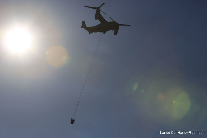 VMM-165 proves Osprey can support Cal Fire