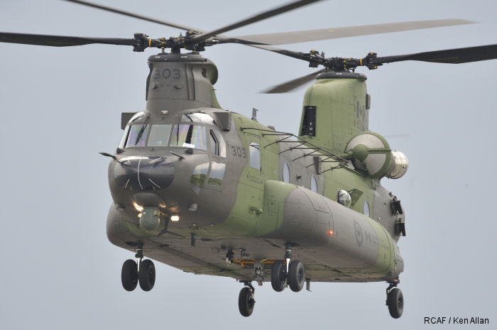 The Royal Canadian Air Force (RCAF) 450 Tactical Helicopter Squadron has 10 newly qualified airmen for its CH-147F Chinook helicopters