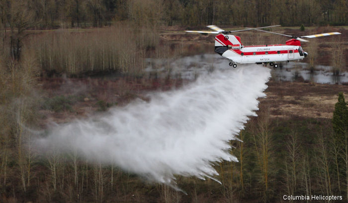 Columbia Helicopters Cites Successful First Deployment Of New Airborne Firefighting System