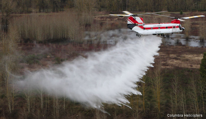 Columbia Helicopters Wins US Forest Service Contracts