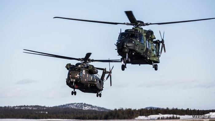 CH-53GA and NH90