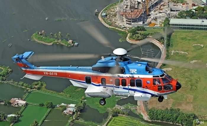 Based on EASA, Civil Aviation Administration of Vietnam issued lift of ban for the AS332L2 and EC225 helicopters to allow operators to return the fleet to service.