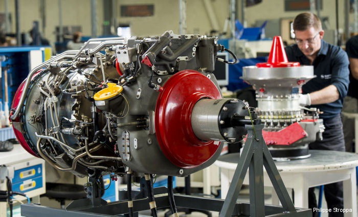 Safran signs contract to support Danish EH101 engines