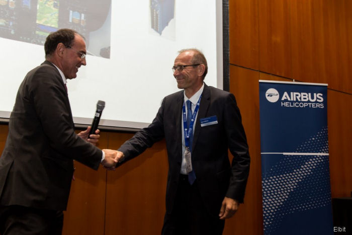 Elbit Systems Awarded Title of Industrial Best Performer Supplier by Airbus Helicopters