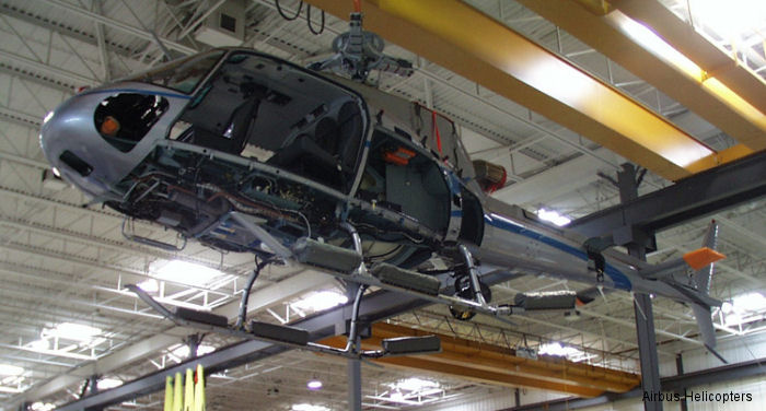 Airbus Helicopters Canada increases Repair and Overhaul  main facility at Fort Erie, ON. Nowadays, 522 AS350/H125's flying in Canada