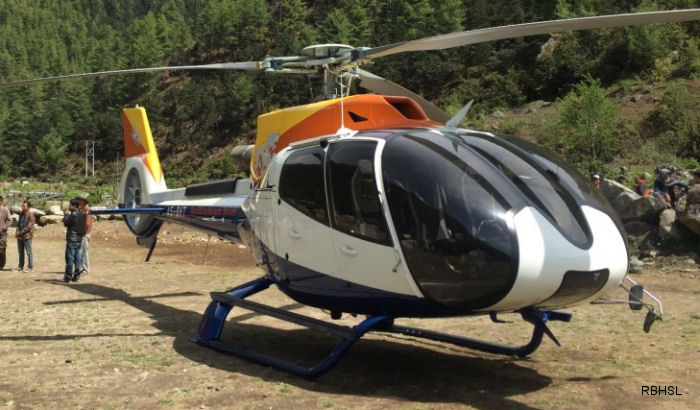 Royal Bhutan Helicopter Services Limited (RBHSL) received its second H130