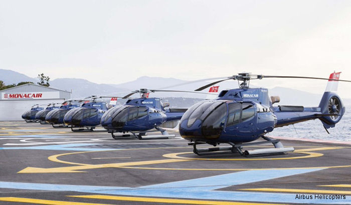 Monacair takes delivery of its 6th and last H130 from Airbus Helicopters