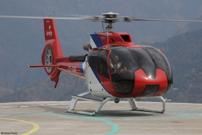 India Global Vectra New H130 In Service  Helicopter Database