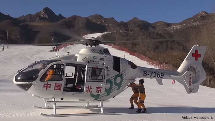 Beijing 999 first ambulance service in China with the EC135P2+