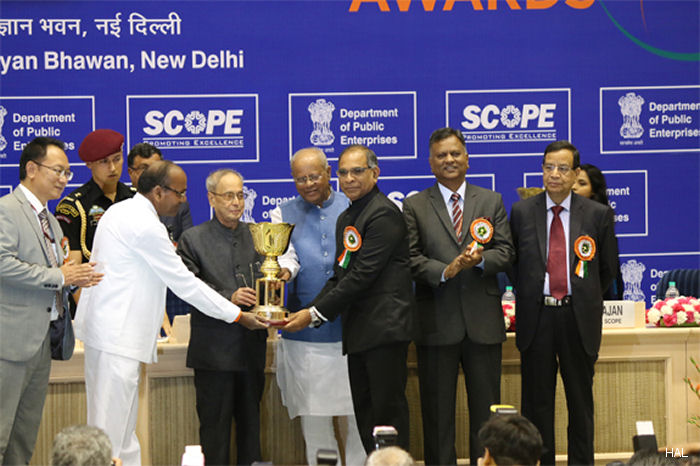 HAL Conferred with SCOPE Excellence Award