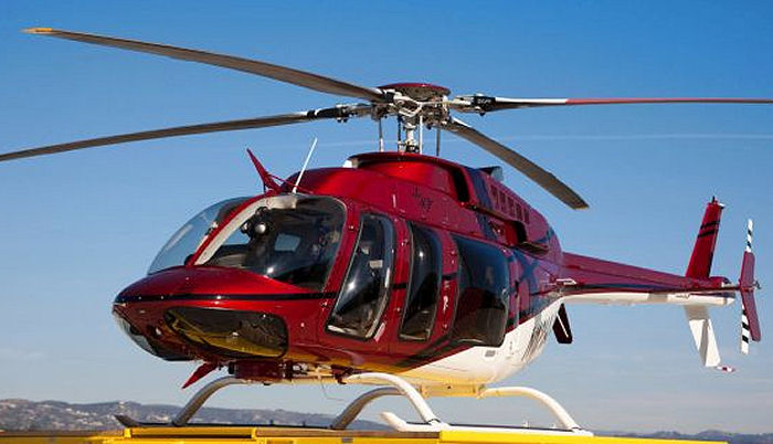 Bell Helicopter Modern Product Line Attracts North American Customers