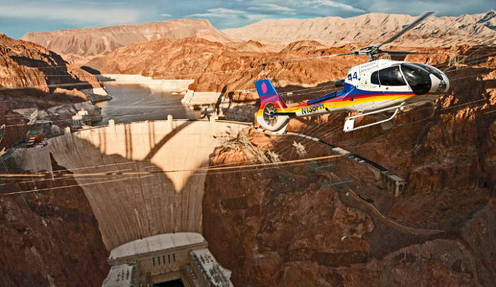 New Hoover Dam Heliport By Papillon Helicopters  Helicopter Database