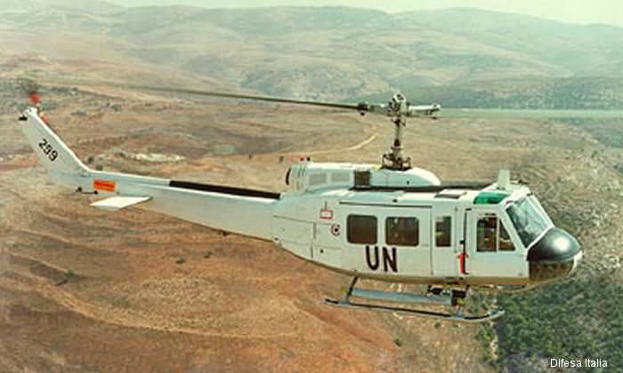 Agusta-Bell AB205 Huey used before current AB212