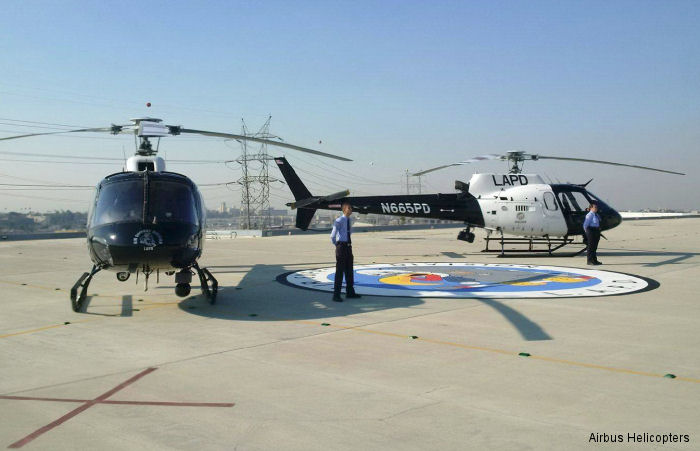 60 years for the Los Angeles Police Department's airborne law enforcement program