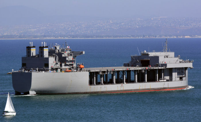 Expeditionary mobile base USNS Lewis B. Puller (T-ESB 3)