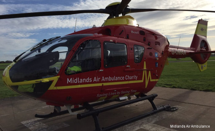 Midlands Air Ambulance Charity Commences Its 25th Anniversary Year