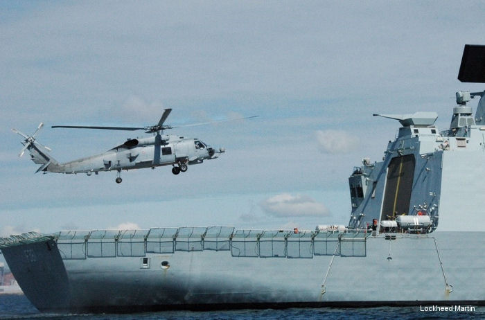 U.S. Navy Delivers First MH-60R Seahawk Helicopters to Danish Defense